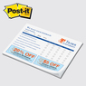 "PD68P-50 - Post-it Note Pad - Value Priced 8"" x 5-13/16"" x 50 sheets"